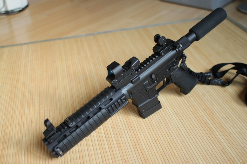 Finalized My Ar15 Pistol Build With Upgrades